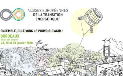 Rendez-vous aux assises européennes de la transition énergétique